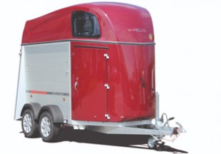The new Varello Alu - The XXL lightweight horse trailer with luxurious details