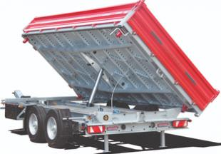 TAUROS - the new three-way tipper truck for the construction sector