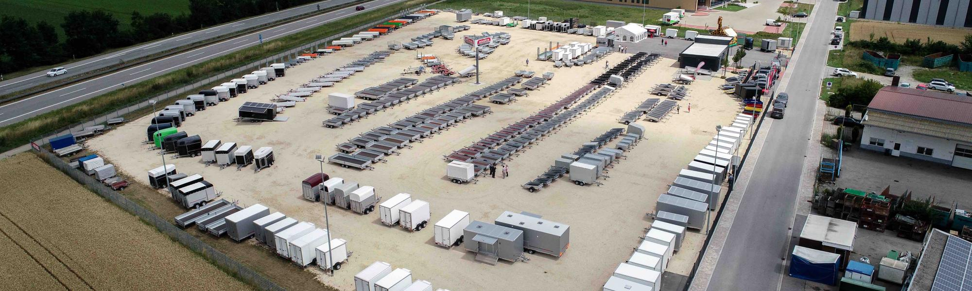 Trailers on 20,000 square meters!